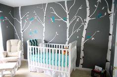 baby room ideas in grey