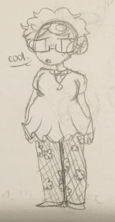 I doodled my dress // (Art by @ImaHotEnchilada)