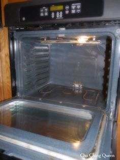 clean oven without chemicals