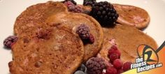 Fitness Recipes – Protein berry (frozen) pancakes by fitness recipes