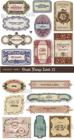 Ultimate Collection of Free Vintage Retro Vector Graphics