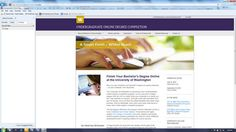 Good info on support needed for students to succeed in online degree: Blazing Trails: Launching the First Online Degree Completion Program at the University of Washington (EDUCAUSE Review)   EDUCAUSE.edu