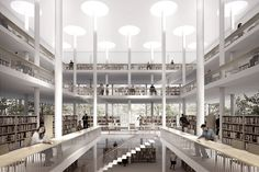 JAJA Architects Among Winners at Daegu Gosan Public Library Competition