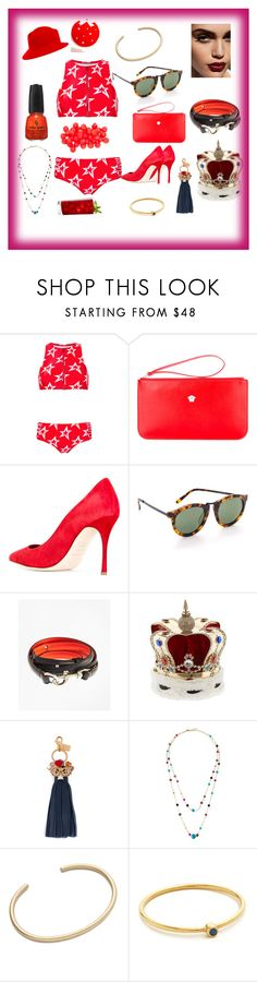 """""""Untitled #1257"""" by jamuna-kaalla ❤ liked on Polyvore featuring Perfect Moment, Versace, Sergio Rossi, Karen Walker, Brooks Brothers, Vittorio Ceccoli, Sophie Hulme, Emily & Ashley, Gabriela Artigas and Jennifer Meyer Jewelry"""