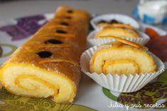 Brazo de gitano de naranja | Recetas Fáciles Reunidas