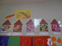 Ειρηνούλα Gingerbread, Kindergarten, Holiday Decor, Home Decor, Food Items, Decoration Home, Room Decor, Ginger Beard, Kindergartens