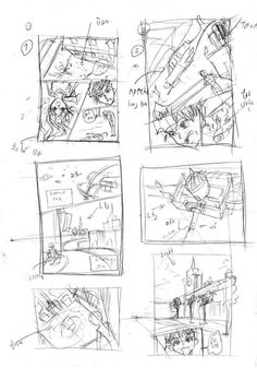 tip to design composition of manga page.