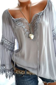 Love this boho look!