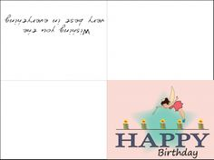 Anniversary Cards Printable Delectable Likerepin Happy Birthday Island Cardswhenever I Need A Birthday .