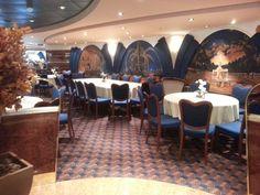 Le Fontane Restaurant, MSC Poesia.