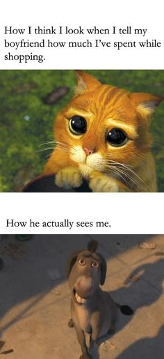 I dont know if its how he actually sees me but it kinda feels like it :D
