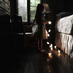 Rachel de pequeña, estrellas.