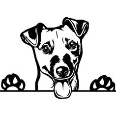 Dog Stencil, Stencil Art, Dog Silhouette, Dog Paintings, Jack Russell Terrier, Dog Art, Animal Drawings, Wood Burning Patterns, Vector Art