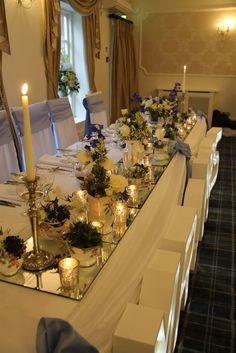 Beautiful Winter Wedding Day at Singleton Lodge for Amanda & Peter Afternoon Tea Wedding, Wedding Flowers, Wedding Day, Flower Designs, Amanda, January, Fresh, Table Decorations, Winter