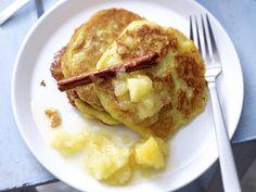 Kartoffelpuffer-Rezepte: Kartoffelpuffer mit Apfelkompott