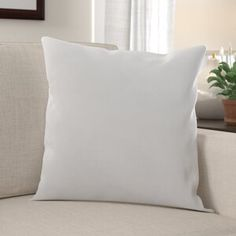 Alwyn Home Arlo Down Alternative Euro Pillow Size: x Euro Pillows, Soft Pillows, Throw Pillow Sets, Outdoor Throw Pillows, Floor Pillows, European Pillows, Feather Pillows, Designer Pillow, Cotton Pillow