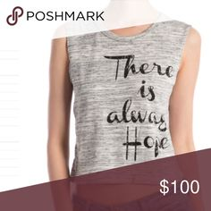 There is Always Hope Top A closet fav! This item is available.  Don't forget to check out my Deal of the Month listing ! Tops Tank Tops