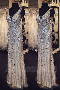Sequin Shiny Long Beading Prom Dresses,V-neck Prom Dress, Prom Dress 2016,Sparkly Prom Gowns,Modest Evening Dresses http://www.luulla.com/product/586918/sequin-shiny-long-beading-prom-dresses-v-neck-prom-dress-prom-dress-2016-sparkly-prom-gowns-modest-evening-dresses
