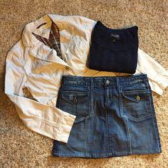 "Paige Premium Denim skirt Worn once!!! Adorable denim skirt! 13 1/2"" long. Paige Jeans Skirts Mini"