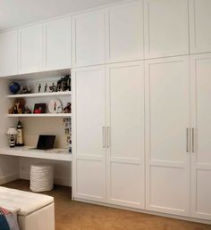 46 Trendy Bedroom Wardrobe Ideas Built Ins Storage Ikea Built In, Built In Desk, Built In Storage, Built Ins, Diy Built In Wardrobes, Diy Fitted Wardrobes, Built In Wardrobe Ideas Sliding Doors, Built In Wardrobe Designs, Closet Bedroom