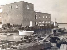 Crisfield, MD 1945, the Geo. A. Christy & Son seafood company