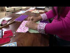 Mulher.com 28/06/2013 Ana Paula Faria - Carteira de tecido Parte 1/2
