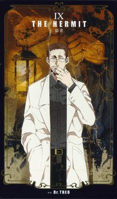 Kohsuke, GANGSTA., Dr. Theo, Tarot Cards, Vertical-striped Shirt, Hand In Pocket