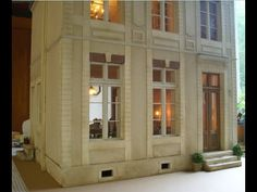 Miniature French House 1:12 - Making of - part III - YouTube