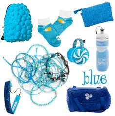 Holiday look book ~ BLUE!