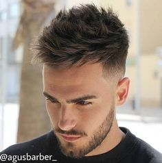 Looking for men's hairstyles? Find hairstyle ideas with its characteristics to create your cool and trendy men's hairstyles today. Pick your style! # Braids hairlook rock 20 Cool and Trendy Hairstyles for Men (WITH PICTURES) Trendy Mens Hairstyles, Cool Haircuts, Hairstyles Haircuts, Guy Haircuts, Thick Hairstyles, Straight Haircuts, Mens Spiked Hairstyles, Short Haircuts For Men, Thick Haircuts