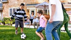 Party Games for Soccer Kids -- Soccer Blocker, Air Heads (B&W Balloons), Yellow Card Freeze Dance Soccer Birthday Parties, Soccer Party, Sports Party, Birthday Party Games, Kids Sports, Boy Birthday, Kid Parties, Soccer Ball, Birthday Ideas