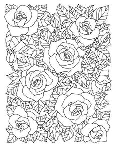 love the vintage apron style 'skirt' and the black pony clutch Rose Coloring Pages, Printable Adult Coloring Pages, Mandala Coloring, Coloring Sheets, Coloring Books, Fabric Painting, Colorful Pictures, Images, Crochet Unicorn