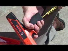 Shooting .22 PELLETS Using NAIL GUN Blanks - YouTube