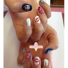 Lovin these babies! #nails #nailart #nailartinmelbourne #melbourne #melbournenailart #iscreamnails
