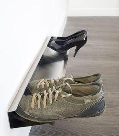 Wall Mounted Shoe Rack - Small