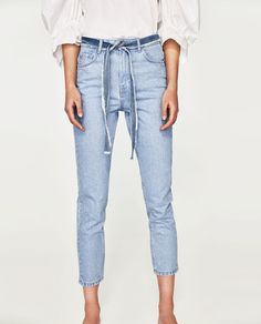 HIGH-RISE MOM FIT JEANS-Mom fit-JEANS-WOMAN | ZARA United States