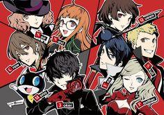 Persona 5, Phantom Thieves, Joker