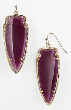 Beautiful spear statement earrings http://rstyle.me/n/pfqcrnyg6
