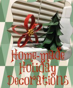 Handmade #Holiday Decorations #Christmas #Craft