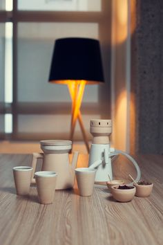 Almaa, Hookah Tea Set On Industrial Design Served