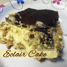 Eclair Cake | While He Was Napping