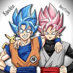 Blacķ y goku en dxd Black Goku, Dragon Ball Z, Dbz, Foto Do Goku, Naruto Wallpaper, Horror Art, Cool Drawings, Manga, Chibi