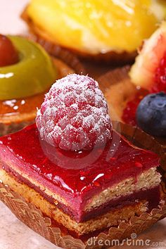 French Petit Fours Royalty Free Stock Photography - Image: 4173797