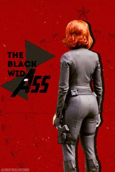Black Widow Ass