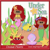 Indigenous Little Mermaid Clip Art