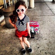 navy criança linda e fashion