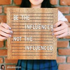 Yes @alisakeeton  #holyhustle // Today #sophiathebrave  my youngest heads off to begin her high school years. I blinked and this happened. Be the influencer and not the influenced is a statement I have declared over my children since the first day they stepped out of my car and into a classroom. Every. Darn. Day. These next four years will test whether or not these words have taken root. . I pray for all our sons and daughters: That they would grow to know they are relevant and needed in the…