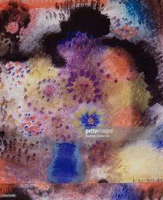 Flowers by Paul Klee