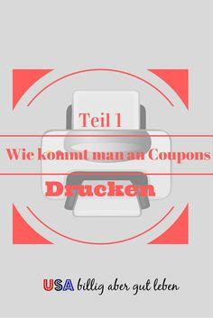 Coupons drucken ist fast wie Geld drucken, nur legal :-) Finde hier Tipps um kostenlose Coupons zu drucken und Seiten die ich auch nutze. http://usabilligabergutleben.blogspot.com/2014/12/teil-1-wie-kommt-man-coupons-drucke.html