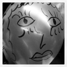 Me in balloon form at